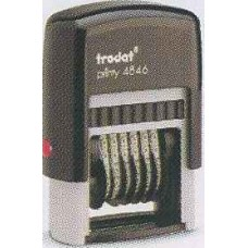 Нумератор пластмассовый 6-разрядный Trodat