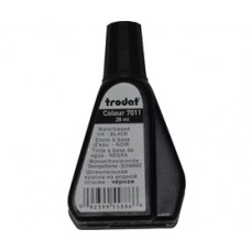 Краска штемпельная 28мл черная Trodat