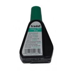 Краска штемпельная 28мл зеленая Trodat