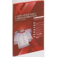 Наклейки для печати (8шт на листе 100л/пач) Xerox