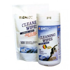 Антистатические салфетки для чистки техники EMTEC
