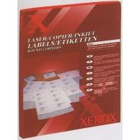 Наклейки для печати А4 (1шт на листе 100л/пач) Xerox