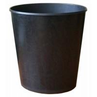Корзина для бумаг пластмассовая черная KiP