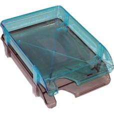 Лоток горизонтальный пластиковый дымчатый Арника