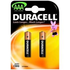Батарейки 2шт (ААА 1.5V 2400мА/ч) Duracell