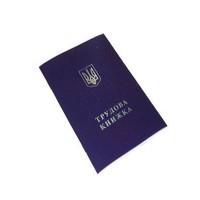 Трудовая книжка Украина Б