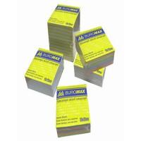 Блок цветной бумаги 90х90мм 500 листов BuroMax
