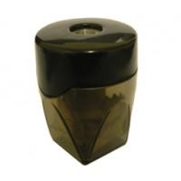 Точилка для карандашей металлическая с контейнером BuroMax