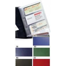 Визитница на 96 визиток Torino темно-синяя Brunnen