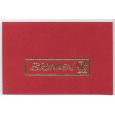 Ежедневник недатированный Torino А6 красный Brunnen