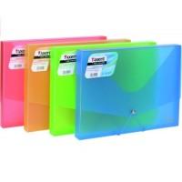 Пластиковая папка-бокс А4 цвет в асс. Axent