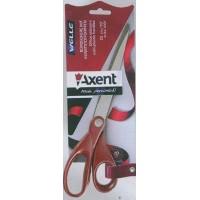 Ножницы (длина 18см) пласт. ручки сталь. лезвия Axent