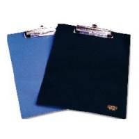 Клипборд-папка А4 с клипсой синяя Datum