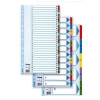 Разделители для регистраторов А4 (от 1 до 12) Esselte