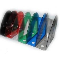 Лоток вертикальный пластмассовый Радуга прозрачный Арника