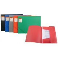 Пластиковая папка с резинками А4 Delta by Axent