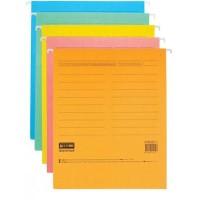 Подвесной файл А4 из пластика синий Axent