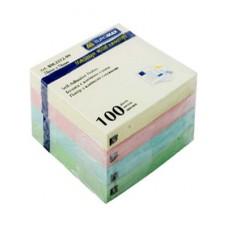 Бумага клейкая для заметок 75х75мм BuroMax