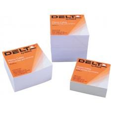 Блок цветной бумаги не склеенный 90х90мм 1100 листов Delta by Axent