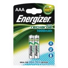 Аккумулятор AAA HR3 1000mAh (2шт) Energizer