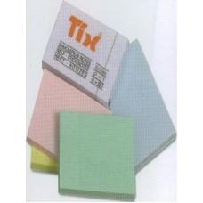Бумага клейкая для заметок TIX 51х75мм TIX