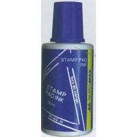 Краска штемпельная 30мл синяя BuroMax