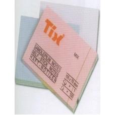 Бумага клейкая для заметок TIX 75х105мм TIX
