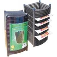 Подставка для компакт-дисков вертикальная на 20шт Арника