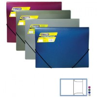 Пластиковая папка на 2-ух резинках А4 BuroMax