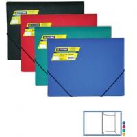 Пластиковая папка с резинками А4 BuroMax