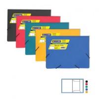 Папка из плотного пластика А5 цвет в асс. BuroMax