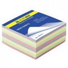 Бумага клейкая для заметок 76х76мм BuroMax
