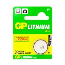 Батарейка CR2032 (таблетка для материнки и др) GP