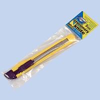Нож канцелярский пластиковый 9мм Delta by Axent