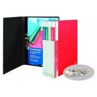 Клипборд-папка А4 с 2-мя зажимами красная Office Point
